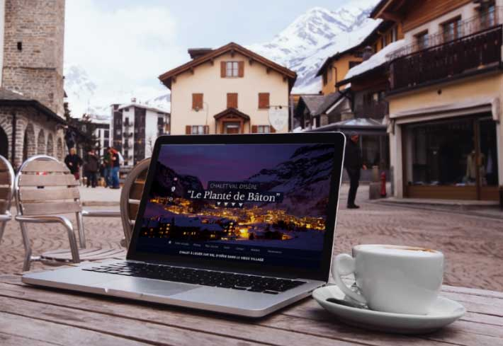 creation site chalet val d isere
